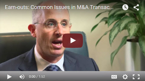 M&A Clips Video #7 - Earn-outs